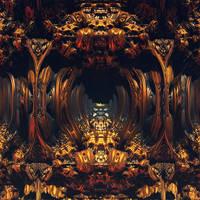 The Door of Glorious Gods by weirdMushroom