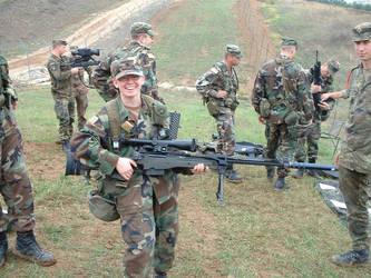 Suppressed German rifle by revdisk