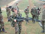 Suppressed German rifle