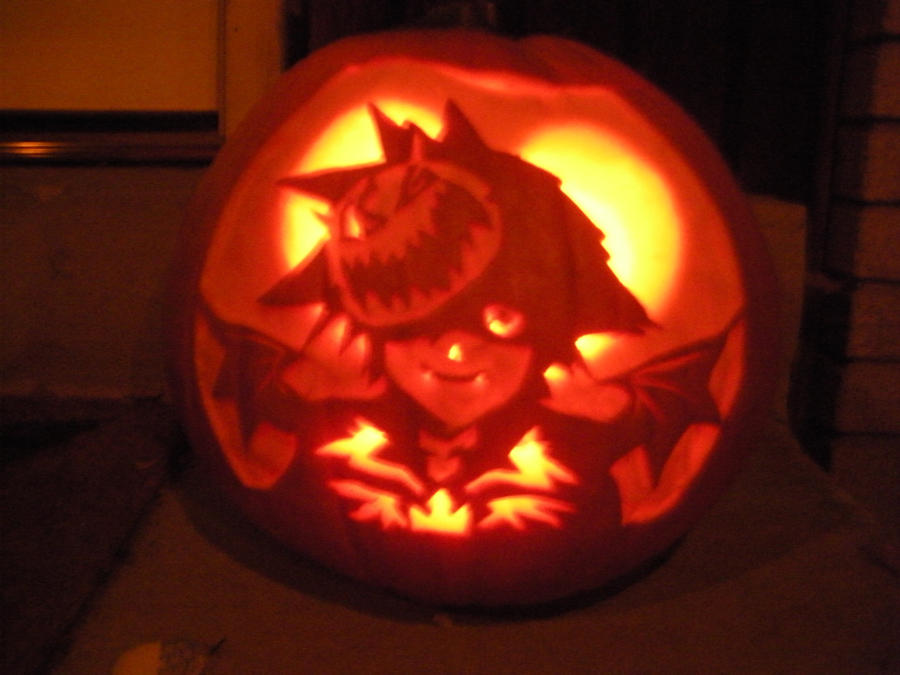Halloweentown sora pumpkin by mystaya on deviantart