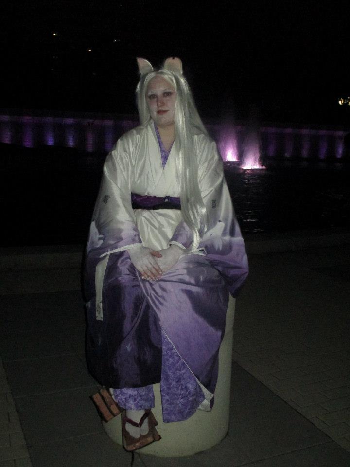 Kitsune at night by mystaya171