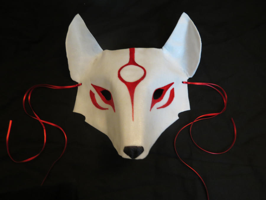Okami Mask by mystaya171