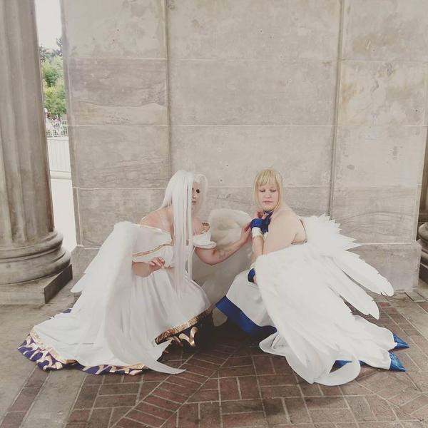 Fate Zero Angels by mystaya171