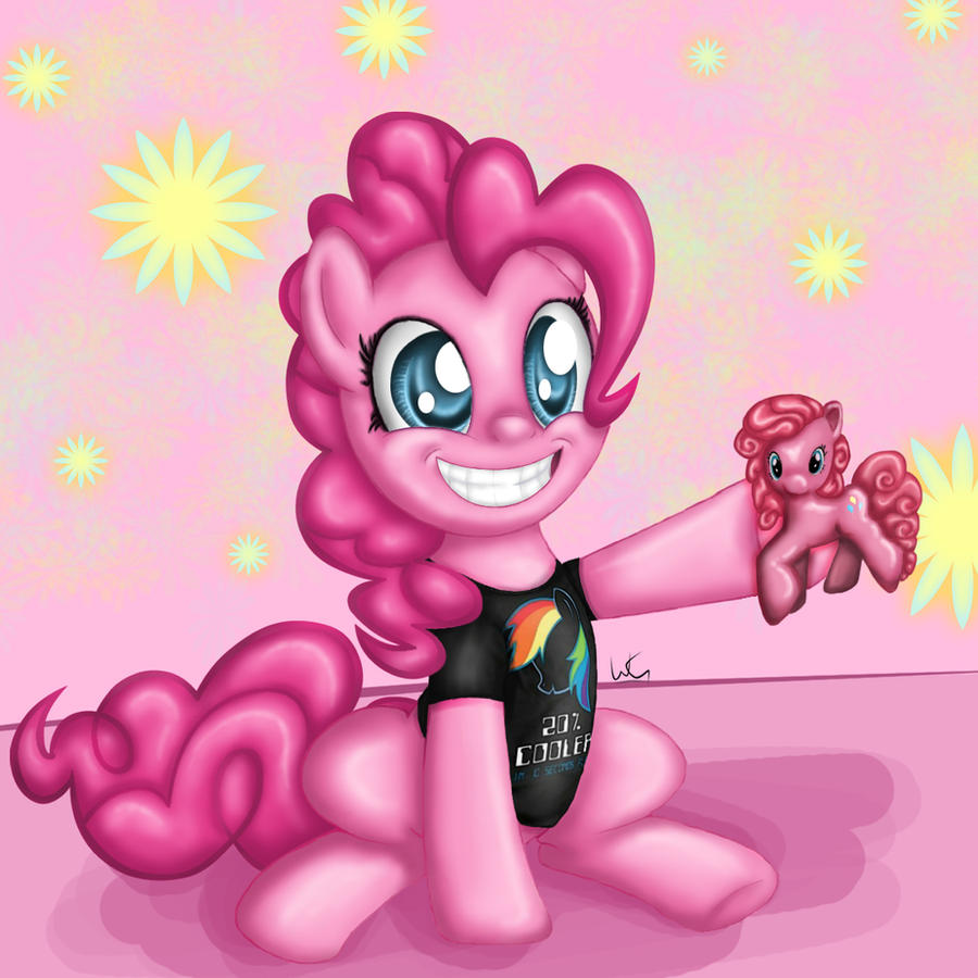 Pinkie Pie with Swag by Slinkycraft