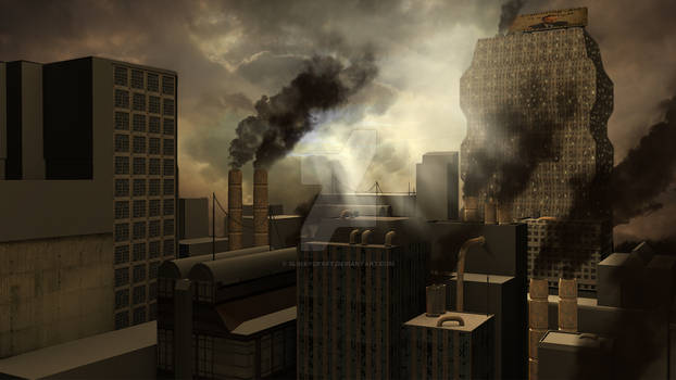 3D Rendered Dystopia