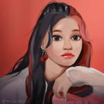 Fromis_9 Nakyung Fan Art