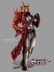 Kamen rider Saber by Zarameister