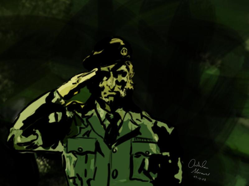 gallery for big boss mgsv wallpaper