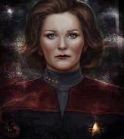 Kathryn Janeway by Faietiya