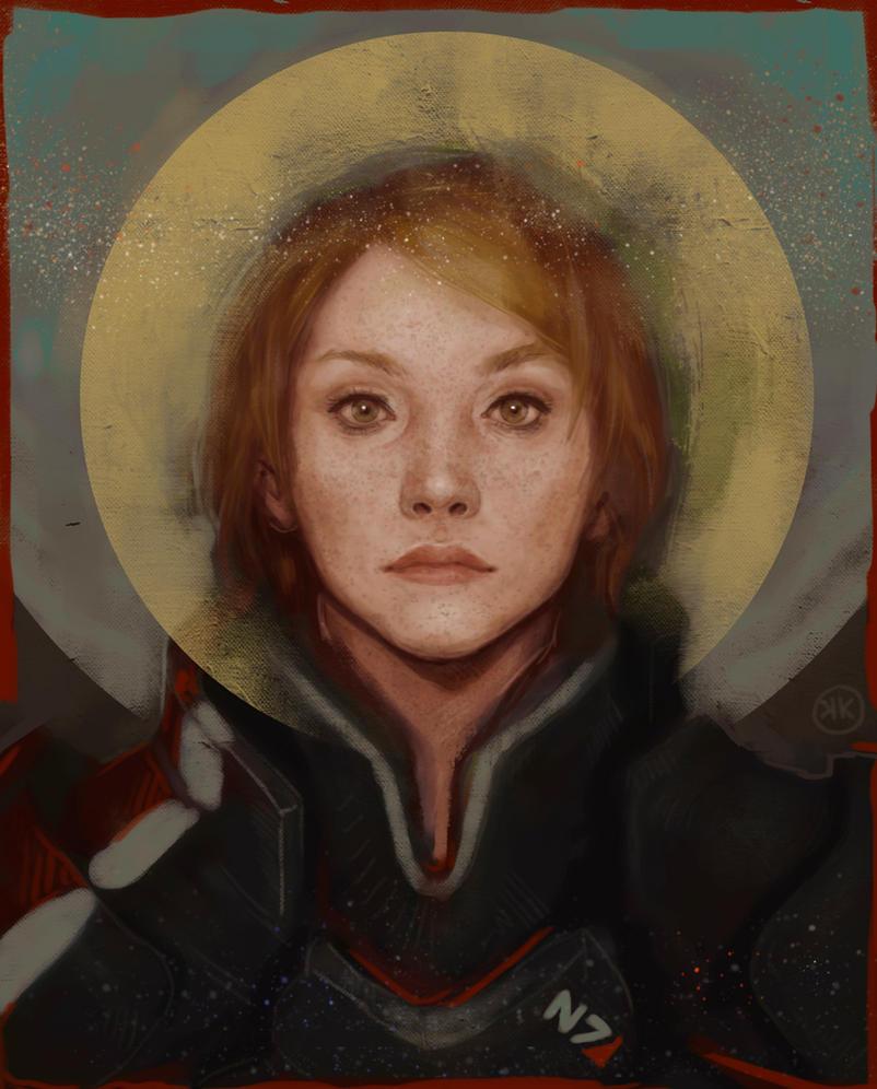 ME Shepard by Kistehvost