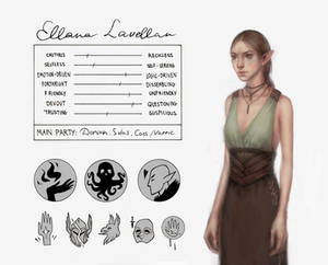 DAI: Ellana Lavellan character sheet