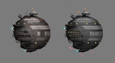 Commission: spaceship concept