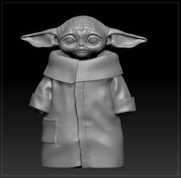 Baby Yoda (wip)