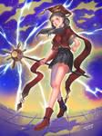 magic girl by C-Chi