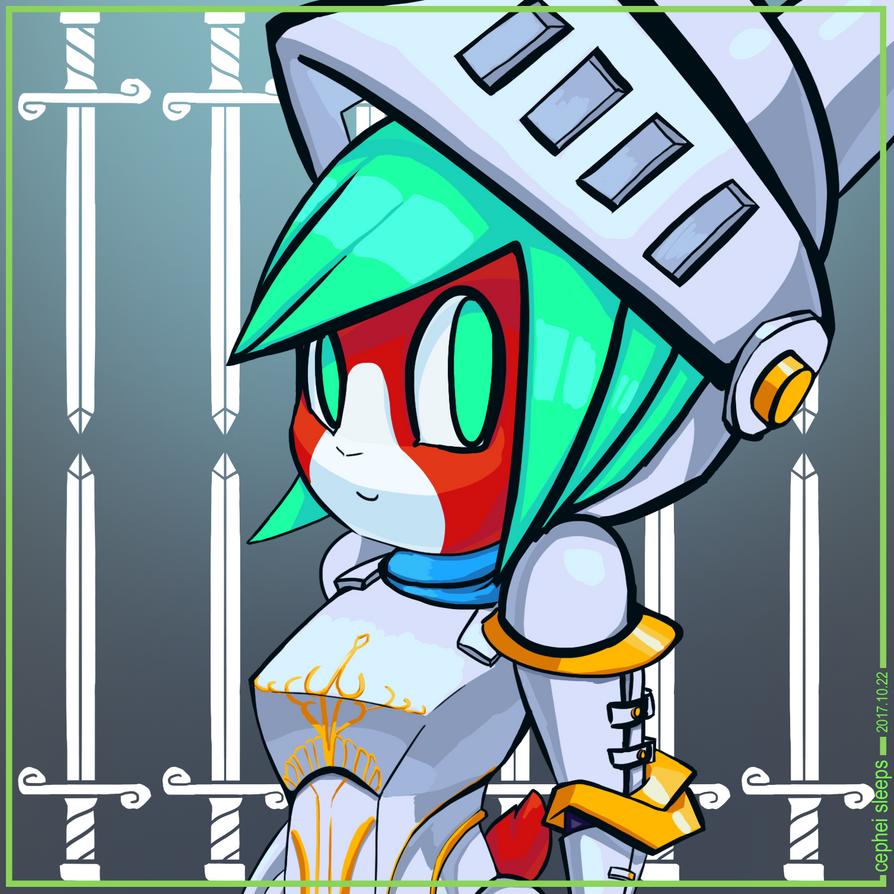 Knight Lydia by cepheisleeps