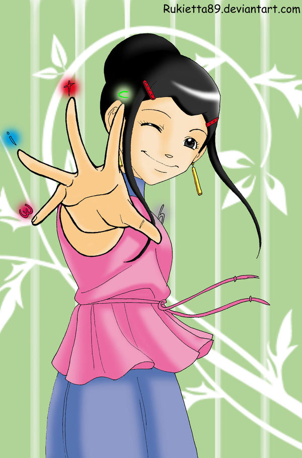 W.i.t.c.h. hand - Hay Lin