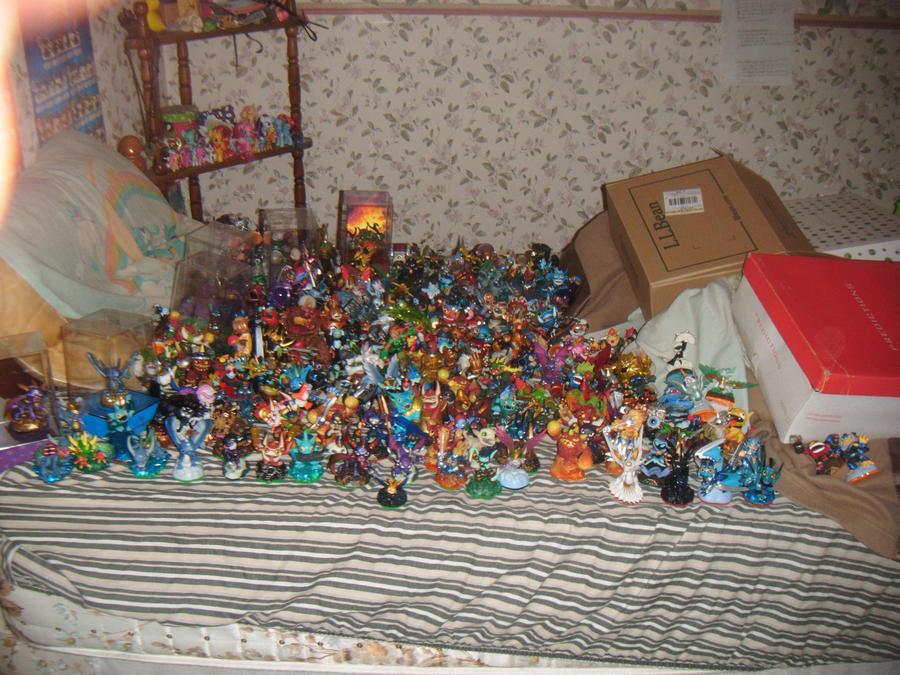 My Skylanders so far by imthecutest1238