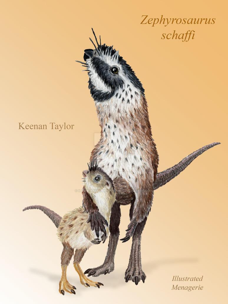 Zephyrosaurus schaffi by IllustratedMenagerie