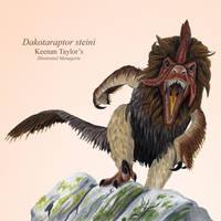 Dakotaraptor by IllustratedMenagerie