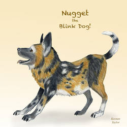 Nugget the Blink Dog - Critical Role