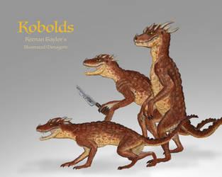 Kobolds by IllustratedMenagerie