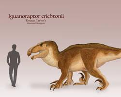 Iguanoraptor by IllustratedMenagerie