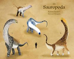 My Sauropoda by IllustratedMenagerie