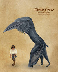 Titan Crow by IllustratedMenagerie
