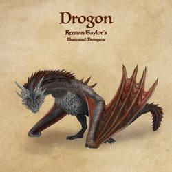 Drogon by IllustratedMenagerie