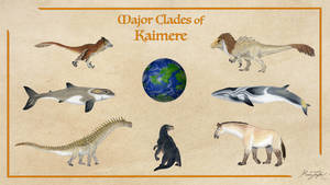 Major Clades of Kaimere