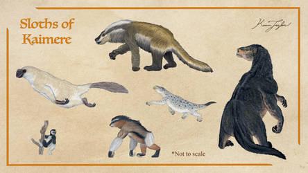 Sloths of Kaimere