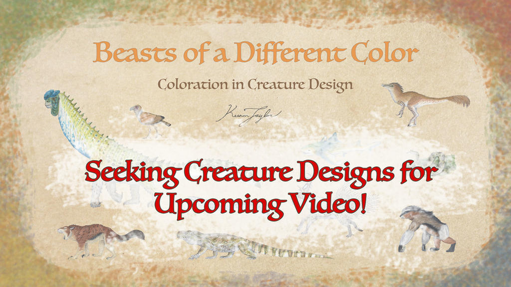 Seeking Creature Designs for Upcoming Video