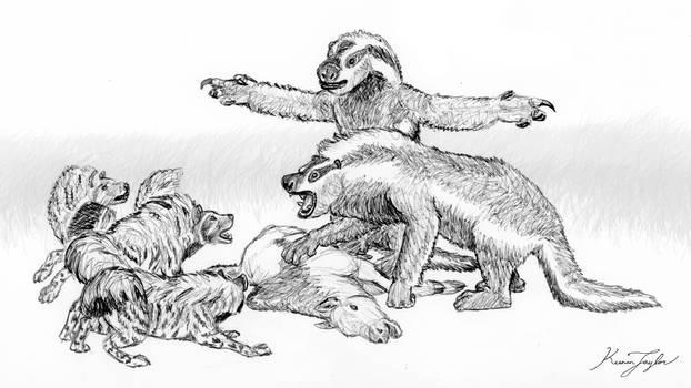 Wojun and Hyenas
