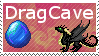 Dragon Cave Stamp by tlws
