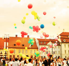 Sibiu. Our hopes fly