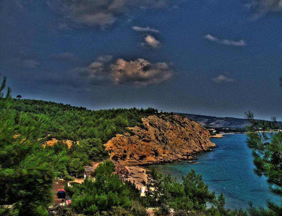 Metalia beach - Limenaria by tibigrecu on deviantART