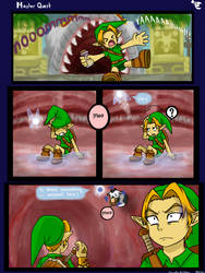 Link's Master Quest Questions by HeartStringsXIII