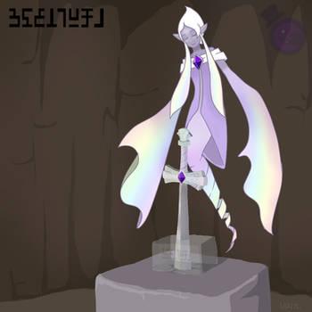 The Sword Spirit Eva by HeartStringsXIII
