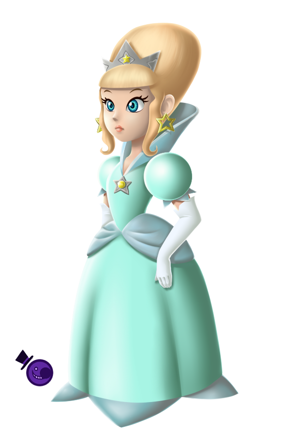 Rosalina Original Concept Design by HeartStringsXIII