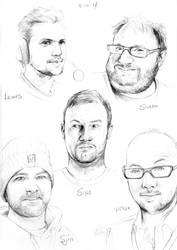 Youtubers #7 The Yogscast by toedeledoki