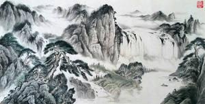 Shanshui reproduction