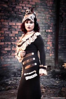 Dark Desire - Steampunk Lady Attitude