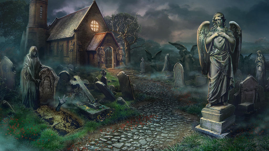 Cemetry by julijuly