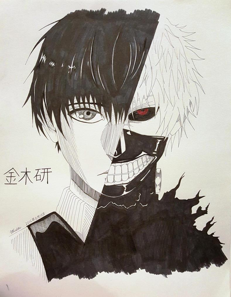 Kaneki Ken by mrittika
