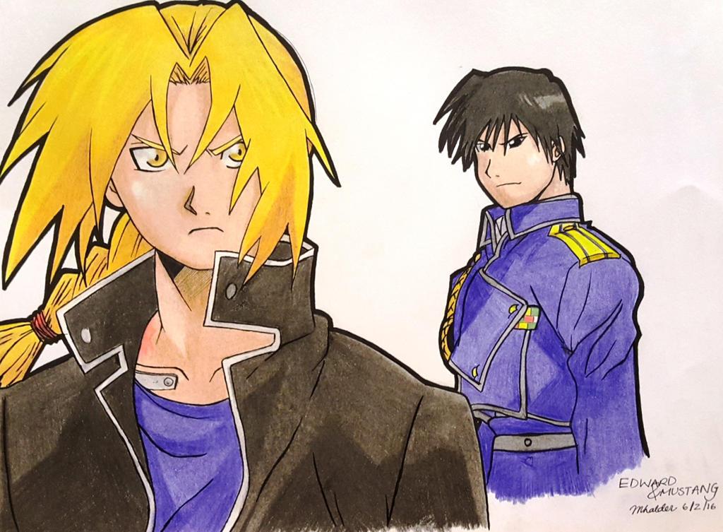 Edward and Mustang by mrittika