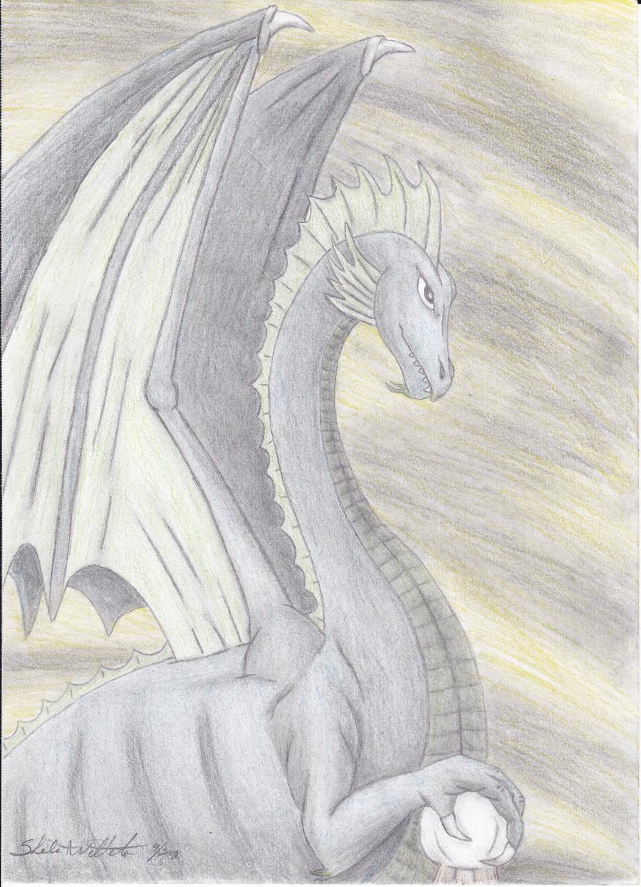 Blue Dragon finished by ShelandryStudio