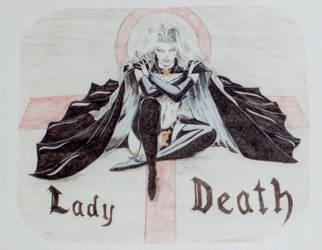 Lady Death 1992 by ShelandryStudio