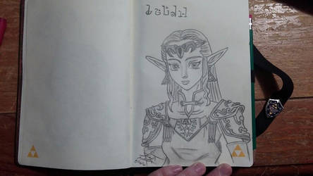 Adult Zelda from Ocarina of Time