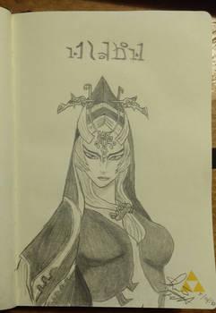 Twili Midna from Twilight Princess