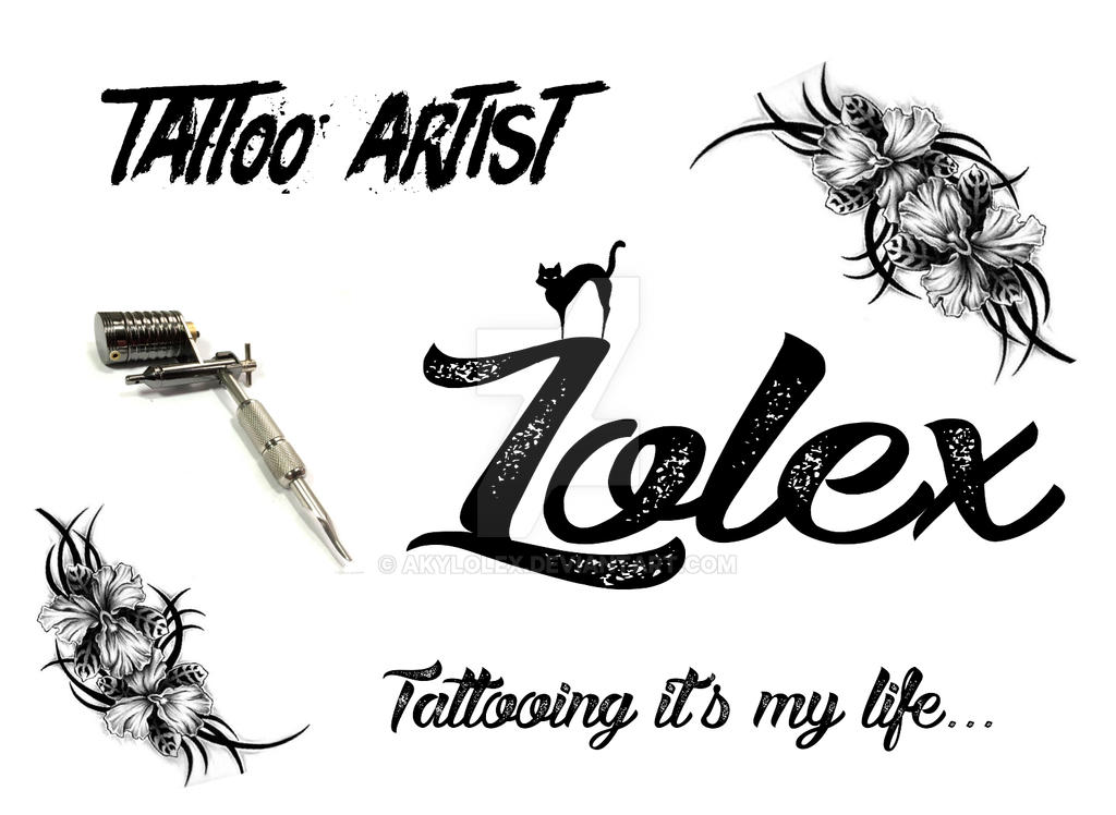 Visit Card Tattoo by Akylolex